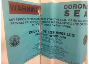 Coroner Seal