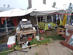 Tent Housing
